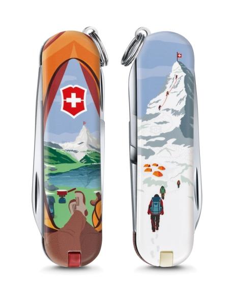 Victorinox Classic Limited Edition 2018 Call of Nature - Matterhorn