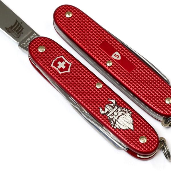 Pioneer Viking Alox Rot Schweizermesser-Shop Edition