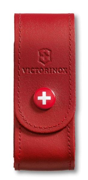 Victorinox Gürteletui Rot Offiziersmesser Leder Klein